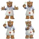 Nurse Bear Pack - 2of2 — Stock Photo