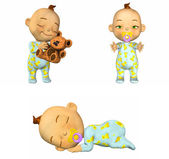 Cartoon Baby Pack 1of2 — Stock Photo