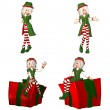 Christmas Elf Pack - 1of6 — Stock Photo #10404649