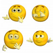 Emoticon Pack - 6of9 — Stock Photo