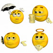 Emoticon Pack - 8of9 — Stock Photo #10405625