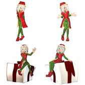Christmas Elf Pack - 3of6 — Stock Photo