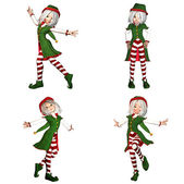 Christmas Elf Pack - 2of6 — Stock Photo