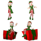 Christmas Elf Pack - 1of6 — Stock Photo