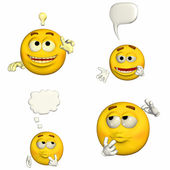 Emoticon Pack - 1of9 — Stock Photo