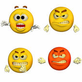 Emoticon Pack - 2of9 — Stock Photo