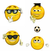 Emoticon Pack - 4of9 — Stock Photo