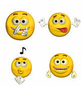 Emoticon Pack - 5of9 — Stock Photo