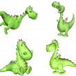 Green Dragon Pack - 2of3 — Stock Photo #10501496