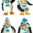 Male Penguin Pack — Stock Photo