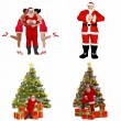 Santa Claus Pack - 2of2 - Stock Photo