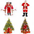 Santa Claus Pack - 2of2 — Stock Photo