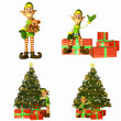 Stock Photo: Christmas Elf Pack