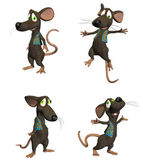 Cartoon Mouse Pack 3/3 — Stock Photo
