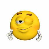 Cool Emoticon — Stockfoto