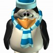 Stock Photo: Sad Male Penguin