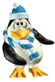 Nieśmiały mężczyzna pingwin — Zdjęcie stockowe