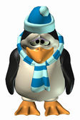 Sad Male Penguin — Stock Photo