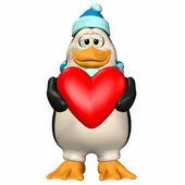 Male Penguin In Love — Stock Photo