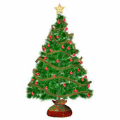 Chrismas Tree — Stock Photo