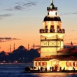 Stock Photo: Maidens Tower, Istanbul