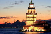 Maidens Tower, Istanbul — Stock Photo
