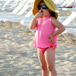 Stock Photo: Child on beach