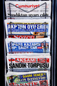 Newspaper stand — Stock Photo