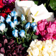 Flowers at florist — Stock Photo