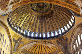 Dome of Hagia Sophia basilica — Stock Photo