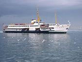 Istanbul ferry — Fotografia Stock