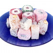 Turkish Delight Plate — Stock Photo