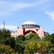 Hagia Sophia in Spring - Stock Photo