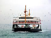 Winter in Bosporus — Fotografia Stock