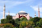 Hagia Sophia in Spring — Zdjęcie stockowe