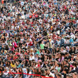 Stock Photo: Crowd of