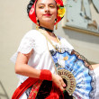Mexicgirl in traditional costume — Stock Photo #9540905