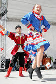 Ukrainian Folk Dance — Stock Photo