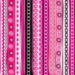 Pink color striped funny background — Stock Vector