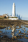 St Marys Lighthouse — Stock Photo