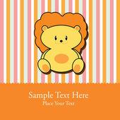 Kartkę z życzeniami dla dziecka — Wektor stockowy