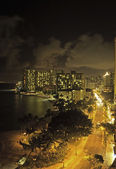 Waikiki beach, oahu, hawaï — Photo
