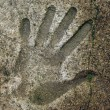 Handprints In Cement — Stock Photo #8160679