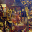 Stock Photo: Antique Shop With Old Metal Things