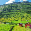 Mountainous landscape of northern Norway — Stock Photo