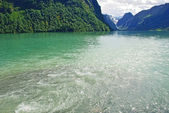 View of the norwegian fjord coast — Stockfoto