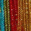 Lot of colored beads from different minerals — Stock Photo #9685689