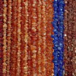 Lot of colored beads from different minerals — Stock Photo #9685718