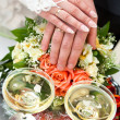 Stockfoto: Champagne on wedding