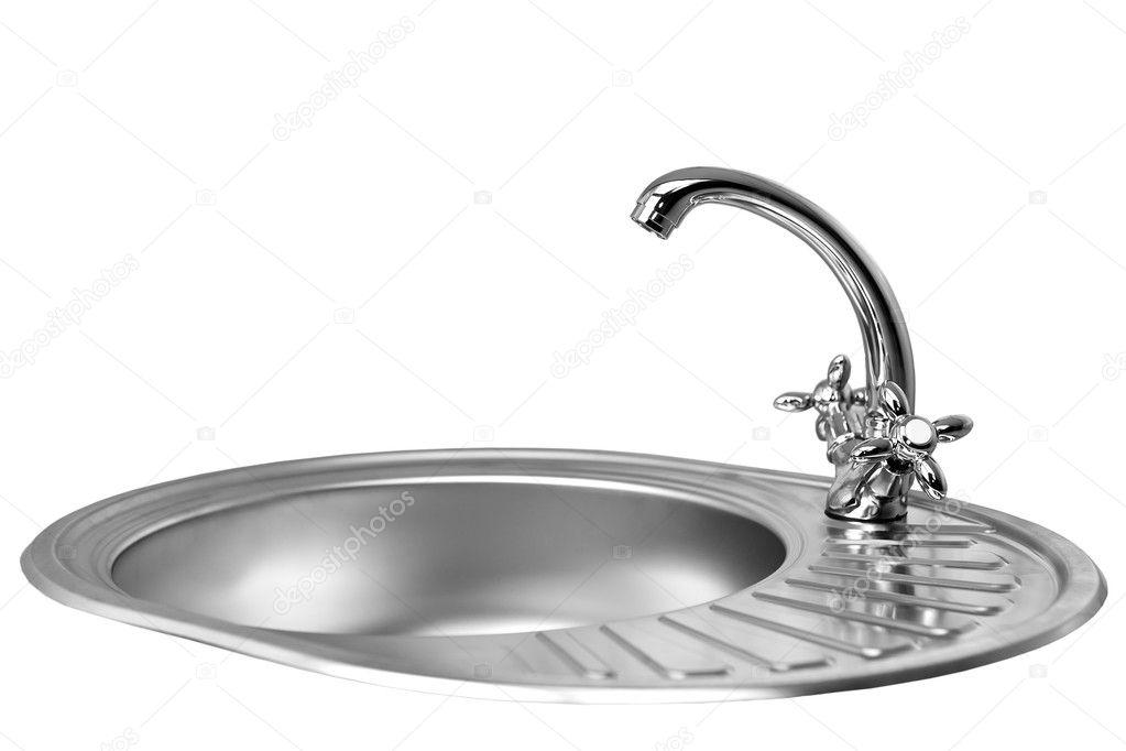 Vitt vatten i kranen